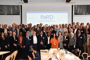 Photo 1: Group picture of delegates at the General Assembly of Members of PaRD in Copenhagen in May 2019 © International Partnership on Religion and Sustainable Development