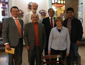 Photo: Thomas and Christine Schirrmacher with the Board of the Evangelical Alliance of Ecuador in Quito, Ecudor © Thomas Schirrmacher
